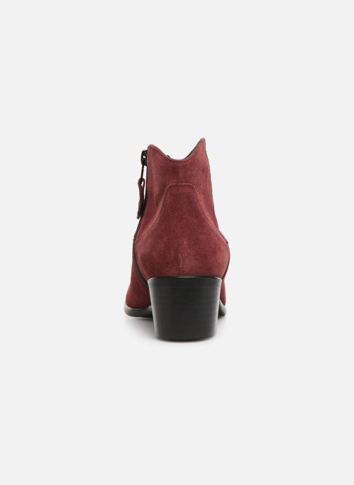 Bottines et boots Elizabeth Stuart Copper 334 Bordeaux vue droite