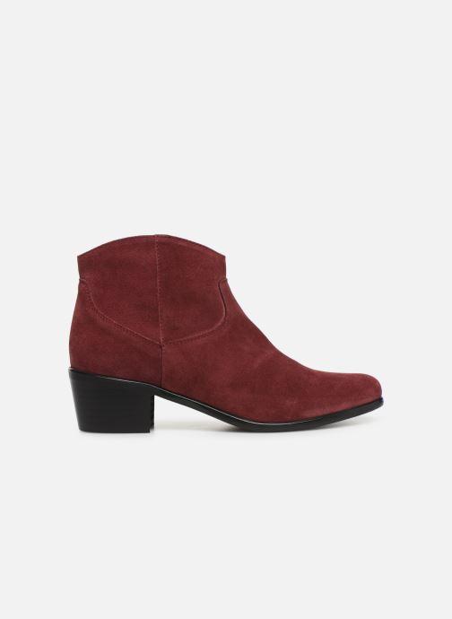 Bottines et boots Elizabeth Stuart Copper 334 Bordeaux vue derrière