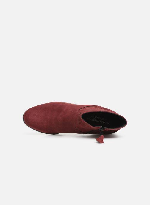 Bottines et boots Elizabeth Stuart Copper 334 Bordeaux vue gauche