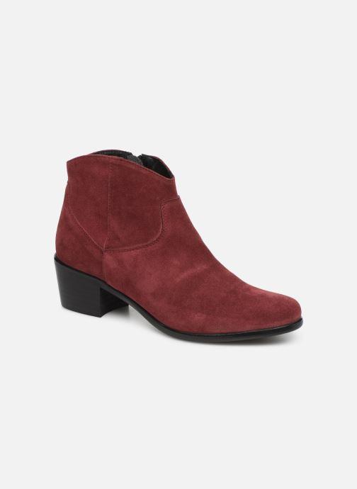 Bottines et boots Elizabeth Stuart Copper 334 Bordeaux vue détail/paire