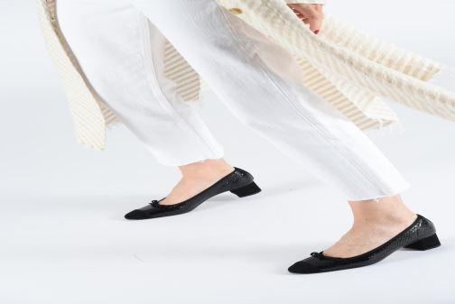 Zapatos de tacón Elizabeth Stuart Dico 452 Negro vista de abajo