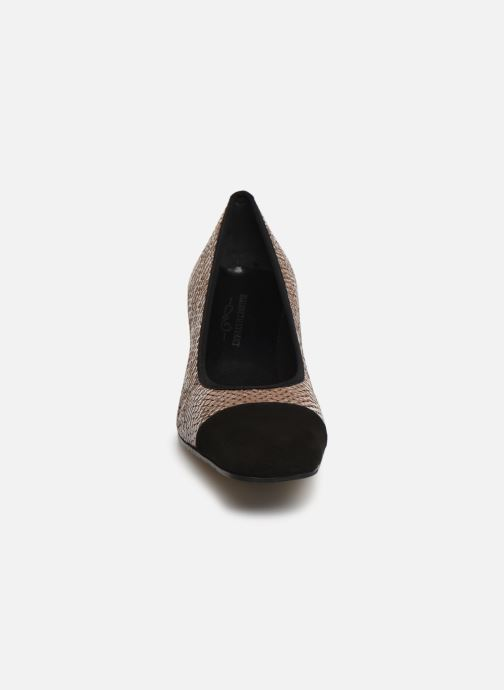 Escarpins Elizabeth Stuart Eres 452 Marron vue portées chaussures