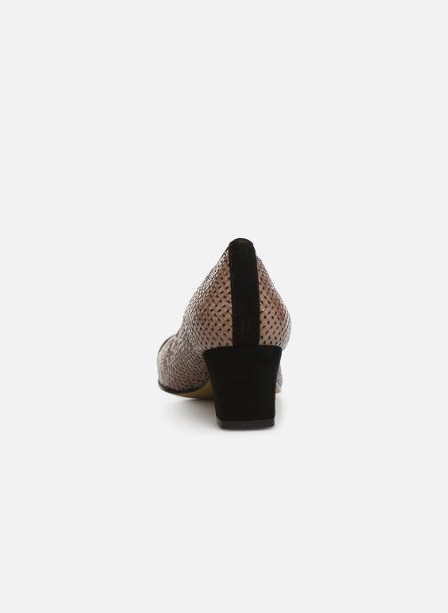 Zapatos de tacón Elizabeth Stuart Eres 452 Marrón vista lateral derecha