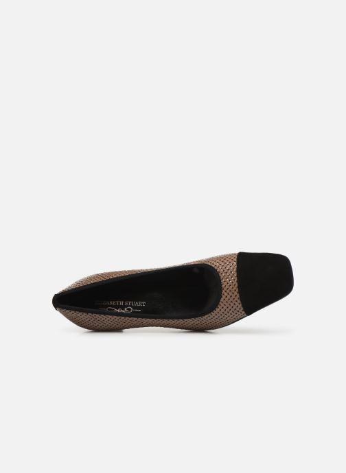 Zapatos de tacón Elizabeth Stuart Eres 452 Marrón vista lateral izquierda