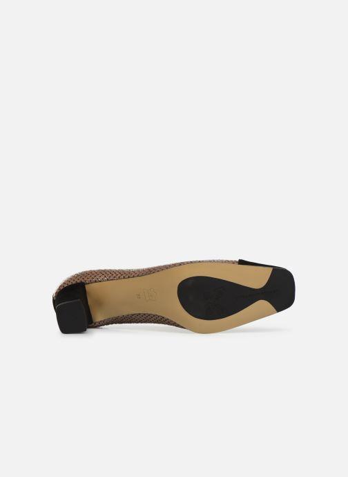 Zapatos de tacón Elizabeth Stuart Eres 452 Marrón vista de arriba