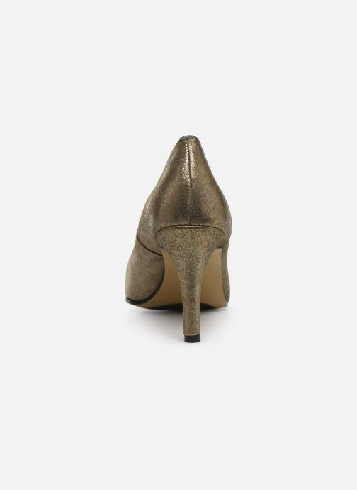 Escarpins Elizabeth Stuart Bea 325 Or et bronze vue droite