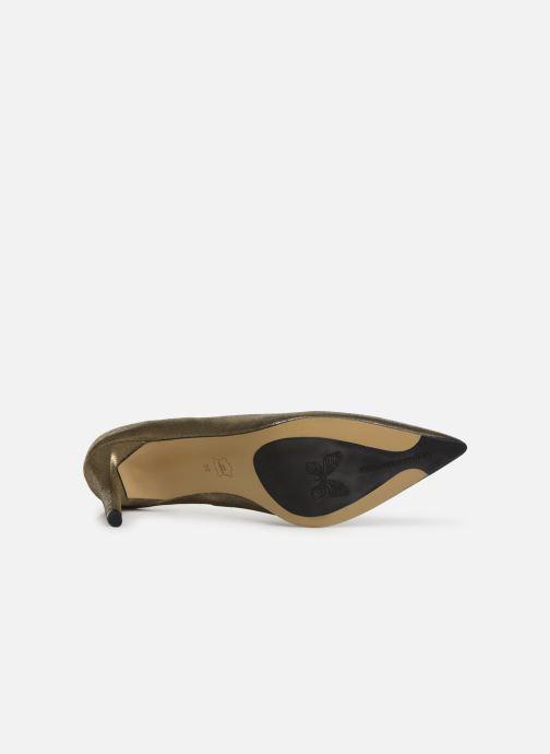 Zapatos de tacón Elizabeth Stuart Bea 325 Oro y bronce vista de arriba