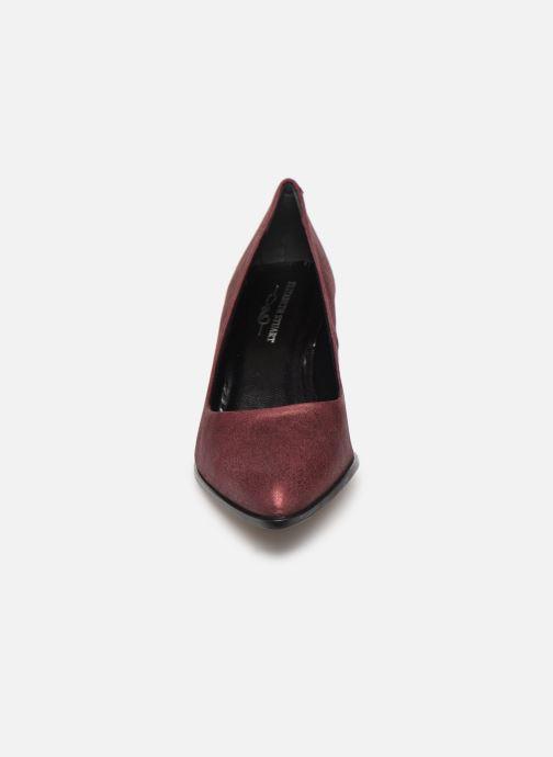 Escarpins Elizabeth Stuart Dhely 325 Bordeaux vue portées chaussures