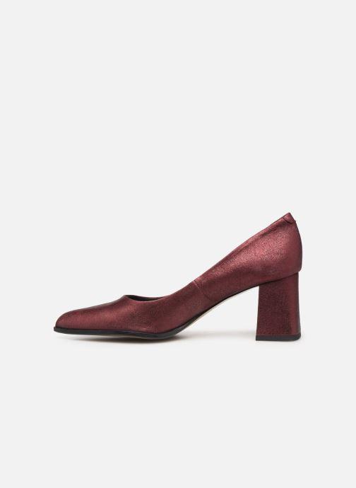 High heels Elizabeth Stuart Dhely 325 Burgundy front view