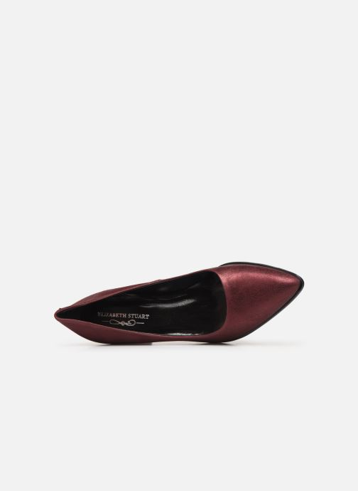 Zapatos de tacón Elizabeth Stuart Dhely 325 Vino vista lateral izquierda