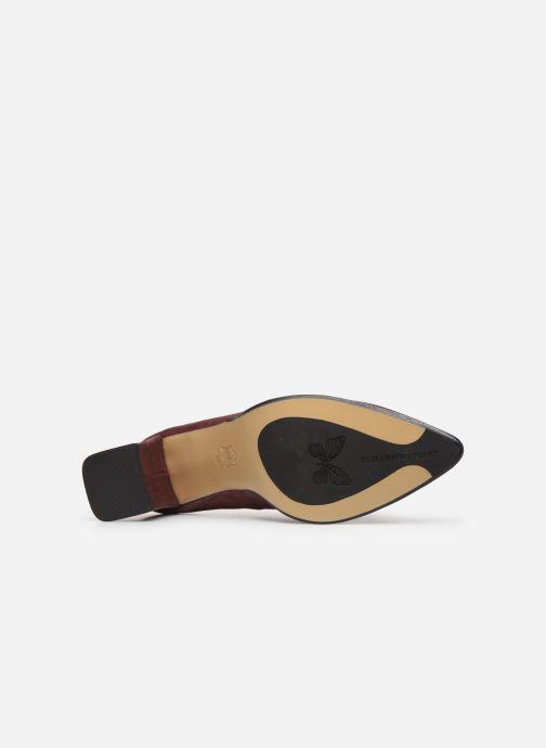 Zapatos de tacón Elizabeth Stuart Dhely 325 Vino vista de arriba