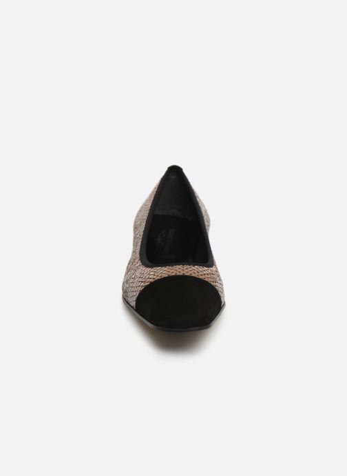 Ballerines Elizabeth Stuart Pam 452 Marron vue portées chaussures