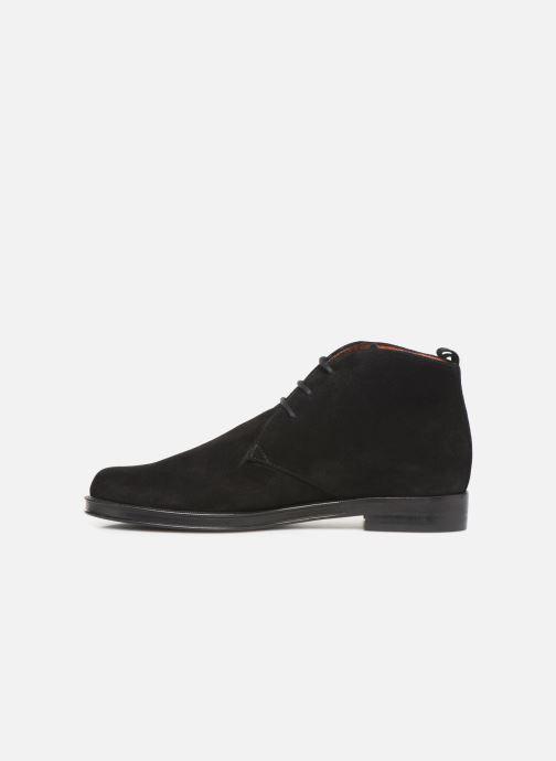 Lace-up shoes Elizabeth Stuart Uvain 334 Black front view