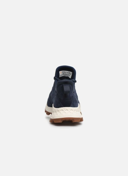 Baskets Timberland Brooklyn Lace Oxford Bleu vue droite
