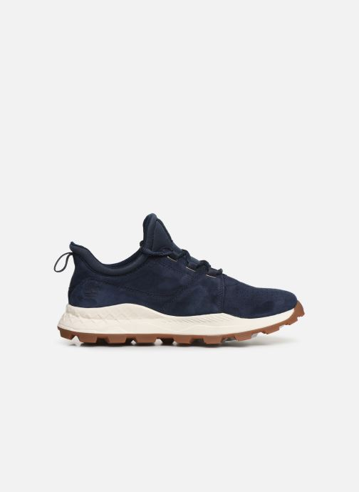 Baskets Timberland Brooklyn Lace Oxford Bleu vue derrière