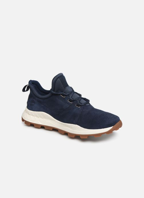 Baskets Timberland Brooklyn Lace Oxford Bleu vue détail/paire