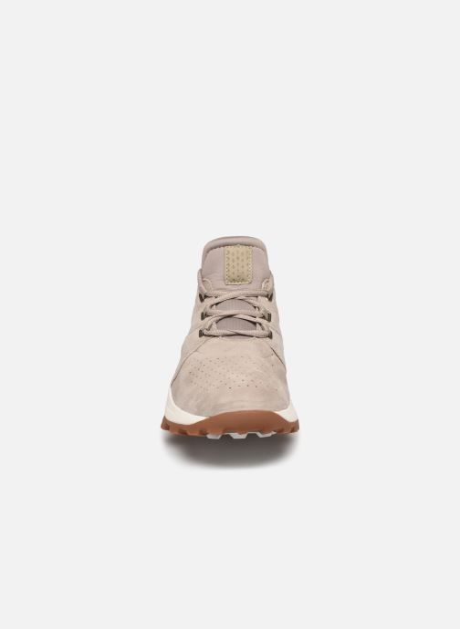 Baskets Timberland Brooklyn Lace Oxford Beige vue portées chaussures