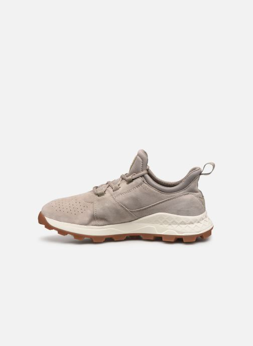 Baskets Timberland Brooklyn Lace Oxford Beige vue face