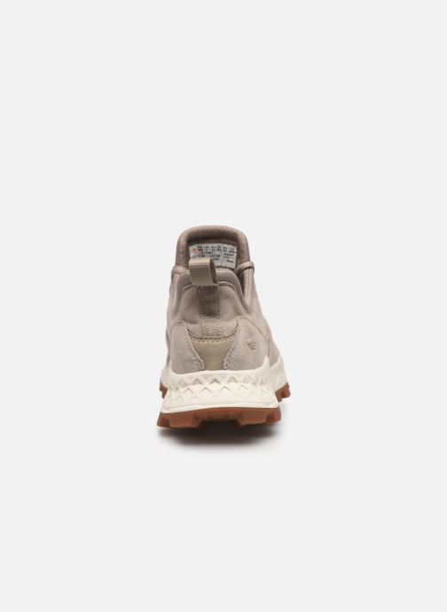 Baskets Timberland Brooklyn Lace Oxford Beige vue droite