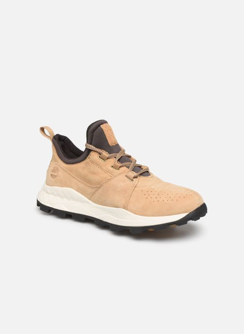 Baskets Timberland Brooklyn Lace Oxford Beige vue détail/paire