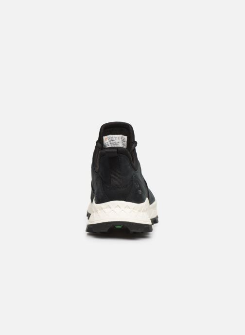 Trainers Timberland Brooklyn Lace Oxford Black view from the right