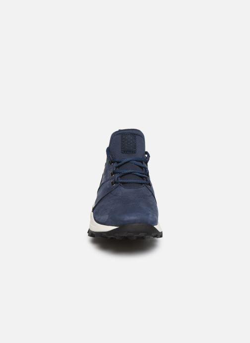 Baskets Timberland Brooklyn Lace Oxford Bleu vue portées chaussures