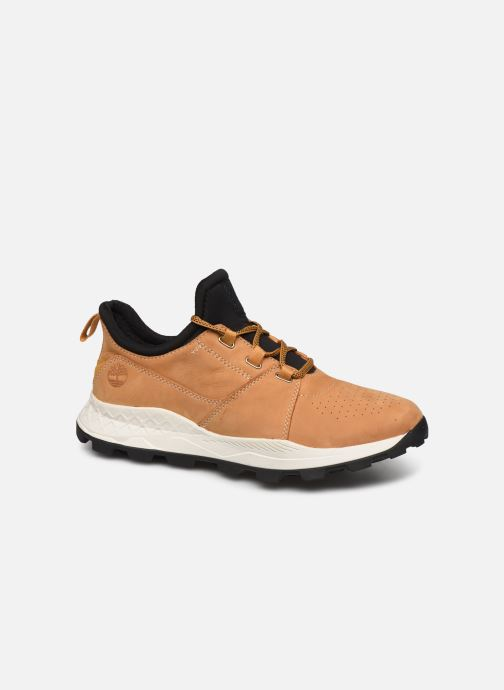 Baskets Timberland Brooklyn Lace Oxford Marron vue détail/paire