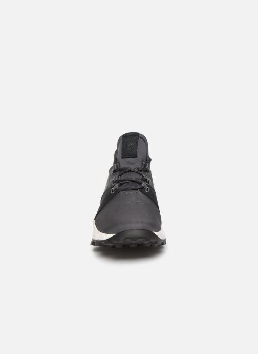Sneakers Timberland Brooklyn L/F Oxford Grigio modello indossato