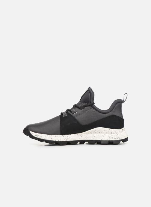 Sneakers Timberland Brooklyn L/F Oxford Grigio immagine frontale