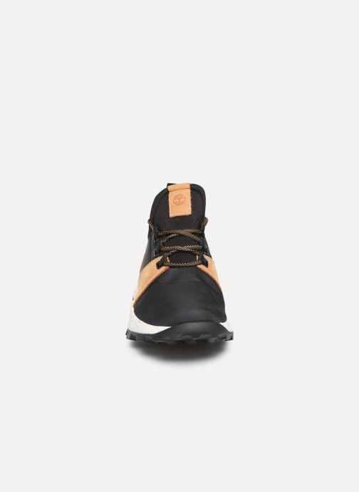 Baskets Timberland Brooklyn L/F Oxford Noir vue portées chaussures