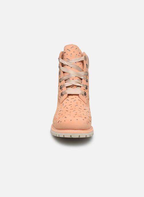 Boots en enkellaarsjes Timberland 6in Premium Boot w/Perf Oranje model