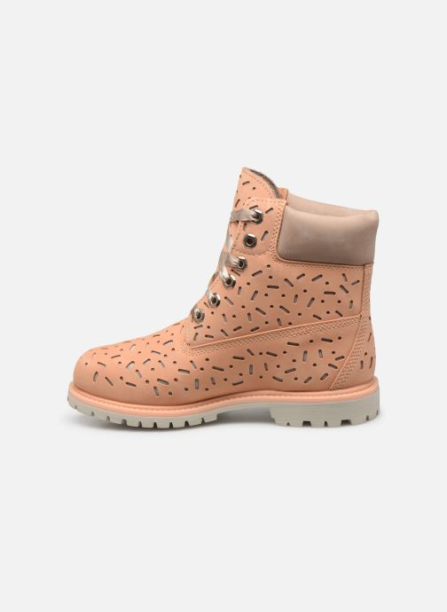 Boots en enkellaarsjes Timberland 6in Premium Boot w/Perf Oranje voorkant