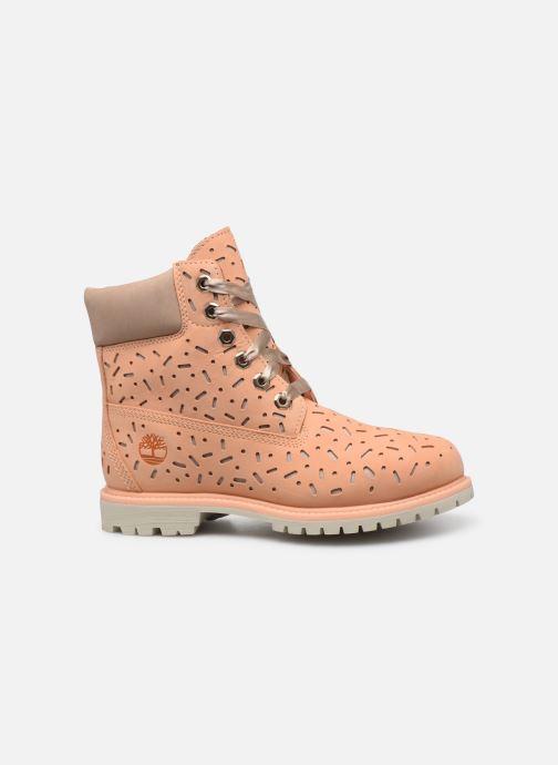 Botines  Timberland 6in Premium Boot w/Perf Naranja vistra trasera