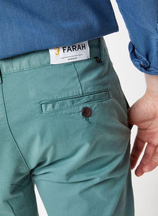 Vêtements Farah F4HS9073 Bleu vue face