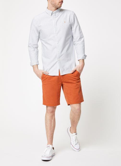 Vêtements Farah F4HS9073 Orange vue bas / vue portée sac