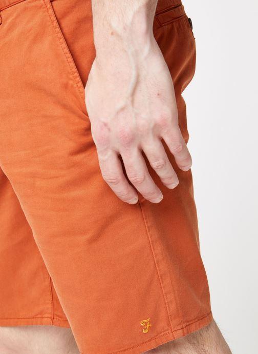 Vêtements Farah F4HS9073 Orange vue face