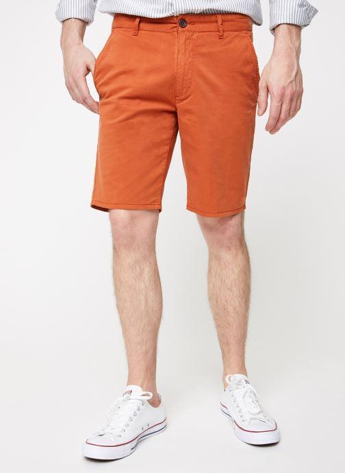 Vêtements Farah F4HS9073 Orange vue détail/paire