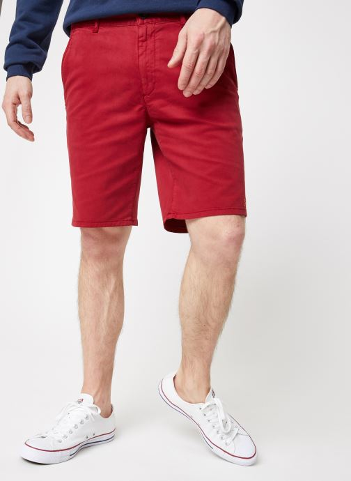 Vêtements Farah F4HS9073 Rouge vue détail/paire