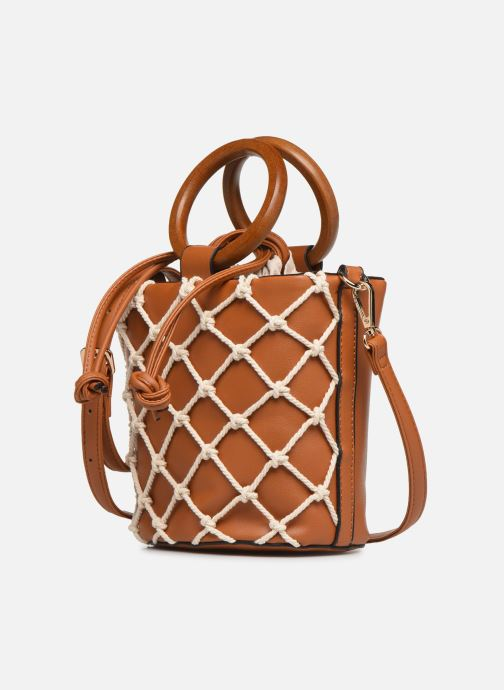 Handtaschen I Love Shoes BASSEAU Filet braun schuhe getragen