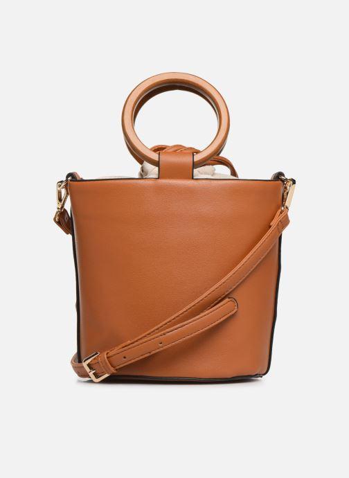 Handtaschen I Love Shoes BASSEAU Filet braun ansicht von vorne
