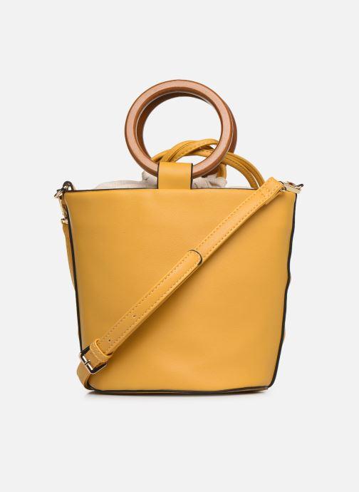 Handtaschen I Love Shoes BASSEAU Filet gelb ansicht von vorne