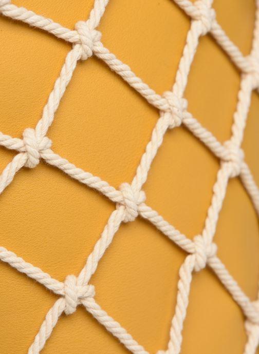 Handtaschen I Love Shoes BASSEAU Filet gelb ansicht von links