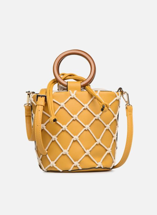 Bolsos de mano I Love Shoes BASSEAU Filet Amarillo vista de detalle / par