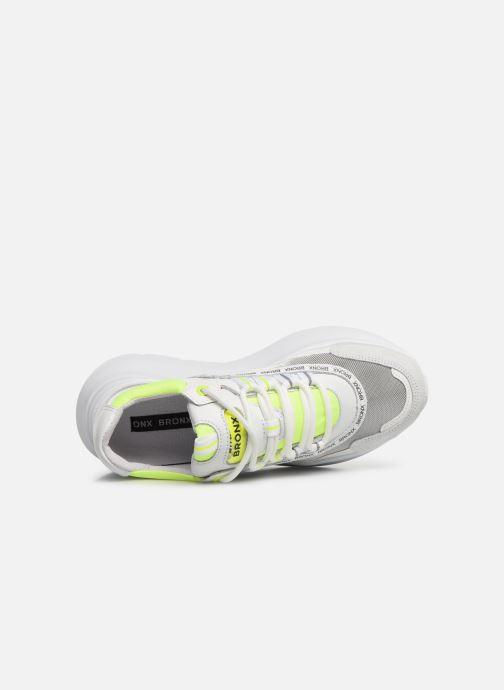 Sneakers Bronx BGRAYSONX Bianco immagine sinistra