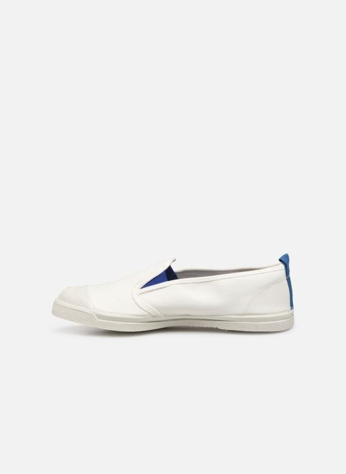 Baskets Bensimon Tennis Tommy-Whity Blanc vue face
