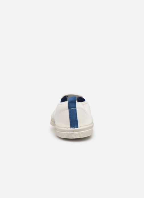 Baskets Bensimon Tennis Tommy-Whity Blanc vue droite
