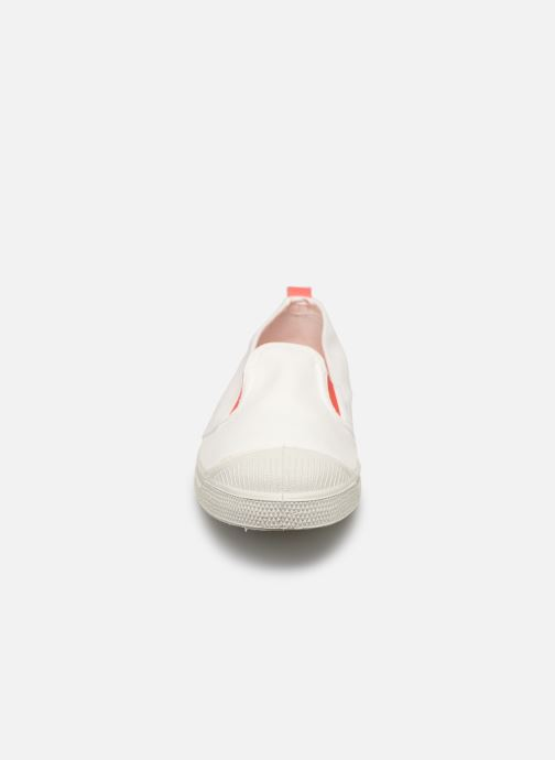 Trainers Bensimon Tennis Tommy-Whity White model view