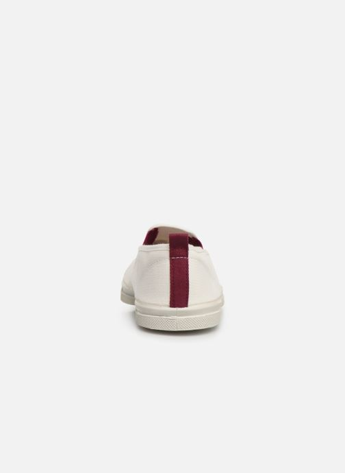 Trainers Bensimon Tennis Tommy-Whity White view from the right