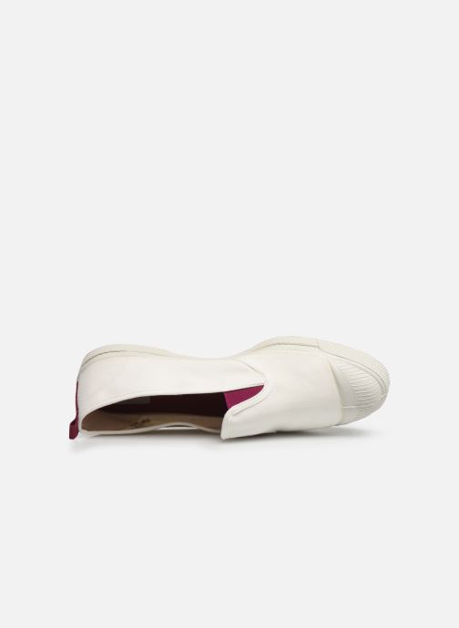 Trainers Bensimon Tennis Tommy-Whity White view from the left