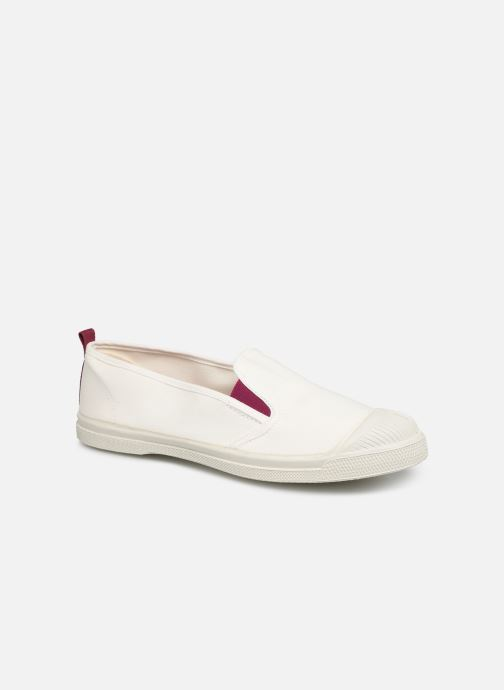 Trainers Bensimon Tennis Tommy-Whity White detailed view/ Pair view